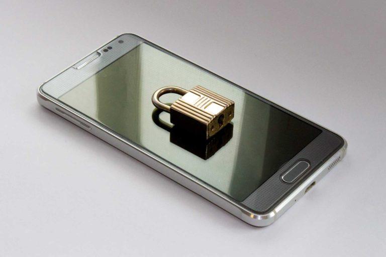 Smartphone entsperren